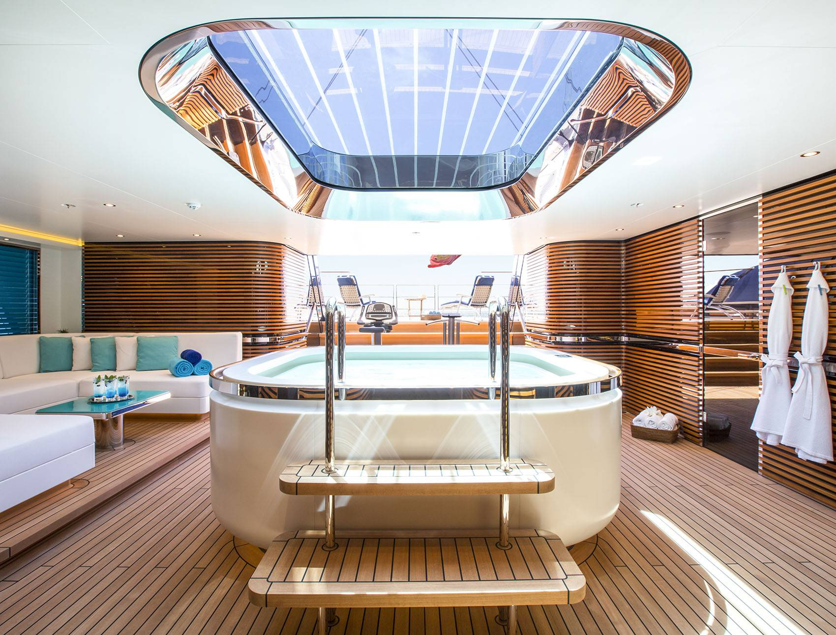 Superyacht Interiors & Decks
